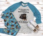 Rottweiler Mom Pajama Set