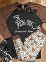 Dachshund Mom Pajama Set