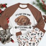Pitbull Glitter Pajama Set