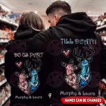 Personalized Hoodie Deer Couple Till Death Do Us Part