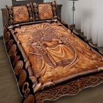 Odin Viking Norse God Quilt Bed Set