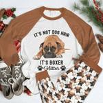 Boxer Glitter Pajama Set