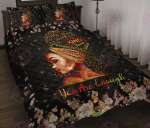 You Are Enough Quilt Bed Set