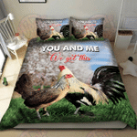 Chicken You & Me We Got This Bedding Set
