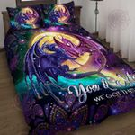 Dragon You And Me We Got This Quilt Bed Set