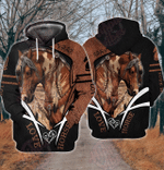 Horse Lovers 3D All Over Printed Hoodie HPV01
