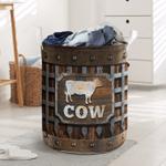 Cow Iron Vintage - Laundry Basket