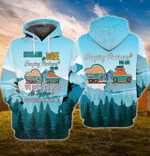 Camping Partner 3D All Over Printed Hoodie