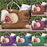 Barrel Racing Tote Bag Personalized Barrel Racing Heart
