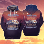 Freaking Camping Partner 3D All Over Printed Hoodie