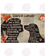 Personalized My Labrador - My Best Friend Horizontal Poster
