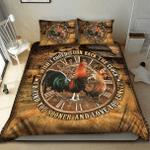 Chicken Couple Wish Bedding Set