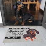 Dachshunds Sweetly Doormat