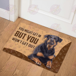 Rottweiler - You won't get out Doormat