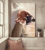Pug - Take my hand Canvas