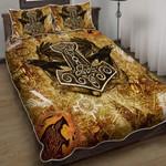 Old Viking Spirit Quilt Bed Set