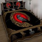 Raven Of Odin Quilt Bed Set