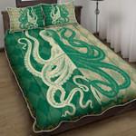 Octopus Vintage Quilt Bed Set