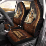 German Shepherd Leather Car Seat Cover HPV02