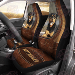 Rottweiler Leather Car Seat Cover HPV02