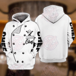 Chef 3D All Over Printed Hoodie
