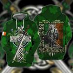 Irish Man 3D All Over Printed Hoodie
