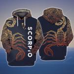 Scorpio 3D All Over Printed Hoodie