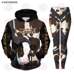 Born To Be A Farmer 3D All Over Printed Clothing Set For Farmer