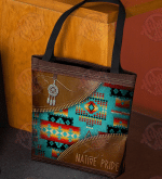 Native American Pattern Tote Bag