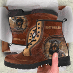 Rottweiler Leather Boots