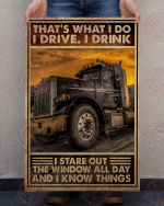 TRUCKER - That's What I Do Poster
