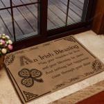 Irish - An Irish Blessing Doormat