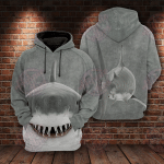 Shark Lover 3D All Over Printed Hoodie
