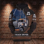 Truck Driver Lover 3D All Over Printed Hoodie