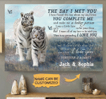 Tiger Couple The Day I Met You poster