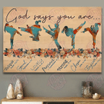 Taekwondo - God Says You Are Strong Poster