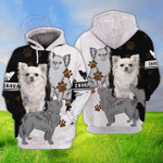 Chihuahua 3D All Over Printed Hoodie