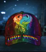 LGBT Dragon Love Wins Classic Cap