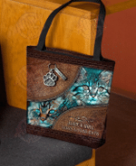 Just A Girl Who Loves Cat Tote Bag HPV01