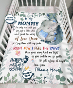 First Mothers Day Gift First Time Mom Gift Fleece Blanket