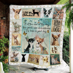 Love Chihuahuas Fleece Blanket