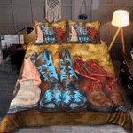Cowboy Boots Lover Bedding Set