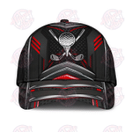 Golf Metal Red Carbon Classic Cap