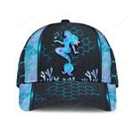 Mermaid Pattern Carbon Classic Cap