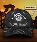Personalized Roofer Carbon Classic Cap