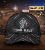 Personalized Football Carbon Classic Cap