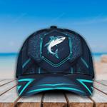 Shark Blue Pattern Ocean Animal Classic Cap
