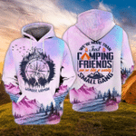 Camping Boom 3D All Over Printed Hoodie