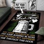 Personalized Irish Home Rug