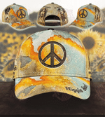 Hippie Soul Be Strong Brave Humble Badass Cap